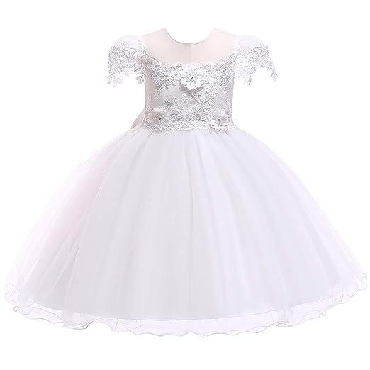 Qiminclo Vestido de niña Vestidos de Princesa Tutu Vestido de ...