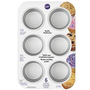 Wilton 6-Cup Kingsize Muffin Pan
