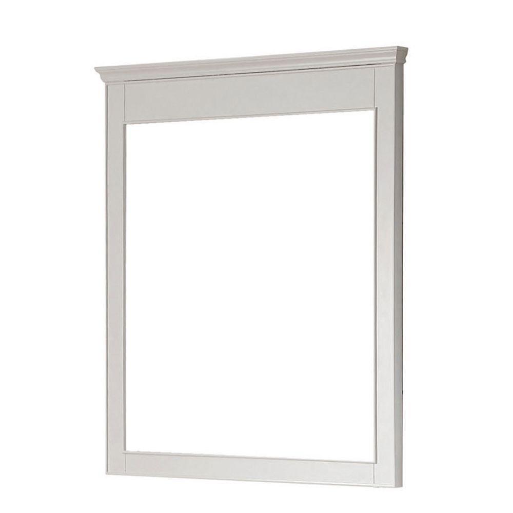 Amazon.com: Avanity Windsor 30 in. mirror in White finish: Home ...