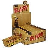 Raw - Papel de liar clásico (grande, 50 unidades)