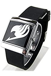 Fairy Anime Tail Watch Guild Logo Cosplay Anime Led Touch Screen Watch