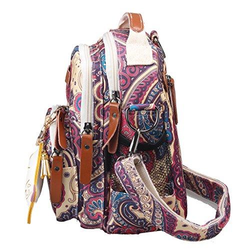 Handbag Multifunction Bags Nappy Canvas Tote Baby Shoulder Mummy Diaper Marin Bleu Bag z54wqn