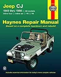 Image of the product Jeep CJ Scrambler that is listed on the catalogue brand of Haynes Manuals.