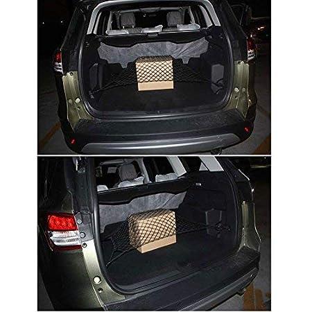 Telo Protettivo Portaoggetti Organizer per Bagagliaio di Tronco di TTIO Auto Reti Portaoggetti Tasca Oganizer con Rete Bagagliaio Auto