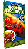 Horizon Group Build Your Own Wooden Fire Truck Kit