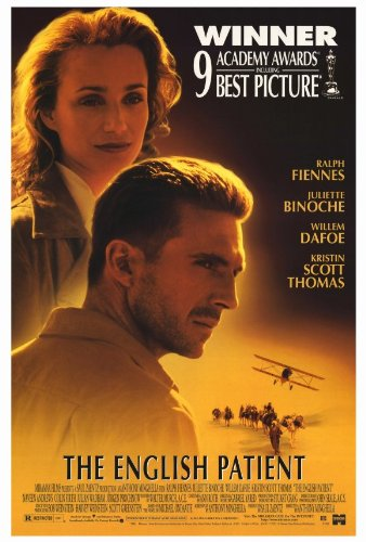 The English Patient Poster 27x40 Ralph Fiennes Kristin Scott Thomas Juliette Binoche Poster Print, 27x40