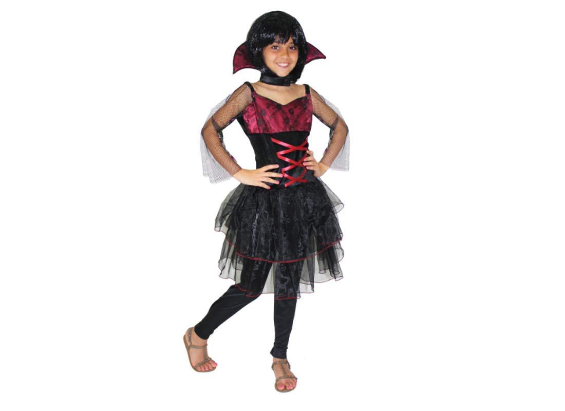 Halloween Inoxidable vampiria para niña h7052: Amazon.es ...
