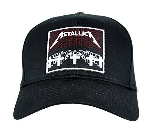 Master of Puppets Metallica Hat Baseball Cap Alternative Clothing Heavy Metal Music