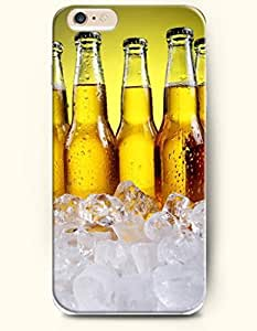 OOFIT New Apple iPhone 6 ( 4.7 Inches) Hard Case Cover - Bottles of Cold Beer