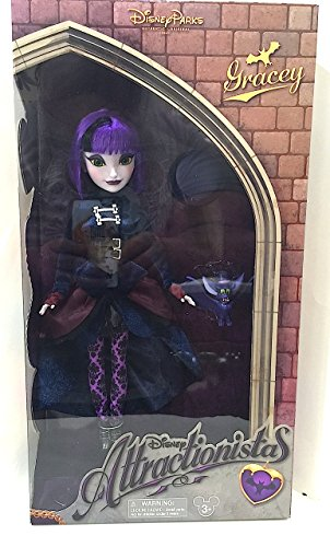 [Disney Parks Attractionistas Gracey Haunted Mansion 12 in Doll with Grimm] (Disneyland Haunted Mansion Costume)