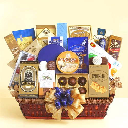 In Good Taste Biscotti, Chocolates and More Gourmet Gift Basket by Organic Stores