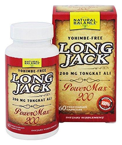 - Natural Balance Long Jack Power Max 200 Mg Supplements, 60 Count