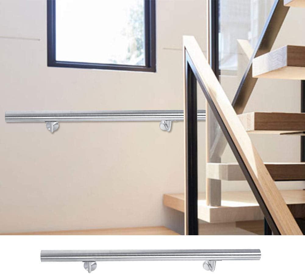 lyrlody - Rieles de Escalera de Acero Inoxidable de 39.4 Pulgadas para escaleras de Seguridad: Amazon.es: Hogar