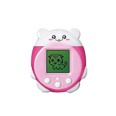 ZJL220 Mini Electronic Pets Toys 90S 9 Pets in One Virtual Cyber Pet Toy Divertido niños Adultos Rosa: Hogar