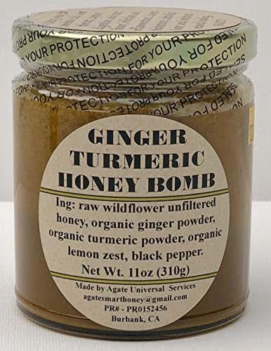 GINGER TURMERIC HONEY BOMB 11oz.