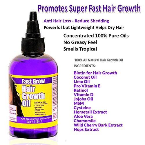 Fast Grow Natural Hair Growth Oil