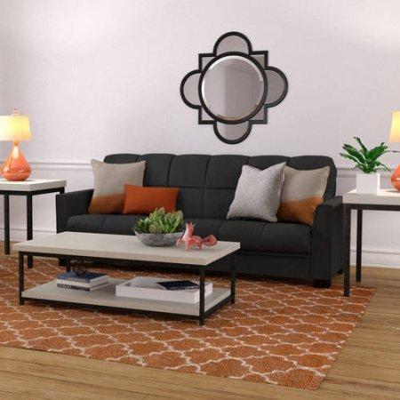 Amazon Com Mainstays Baja Microfiber Futon Sofa Sleeper