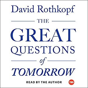 The Great Questions of Tomorrow Audiobook