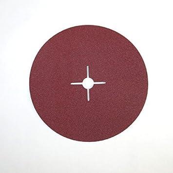 Fiberscheiben Eckra /Ø 125 mm 50 St/ück P 40 Fiberschleifscheiben Schleifscheiben