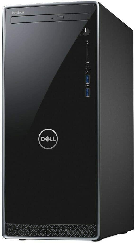 Latest_Dell Inspiron 3670 Desktop_9th Gen Intel i5-9400, 1TB HDD, 24GB Memory (16GB Intel Optane + 8GB RAM), DVD R/W, Wireless + Bluetooth, HDMI | VGA, SD Card Reader,Windows 10