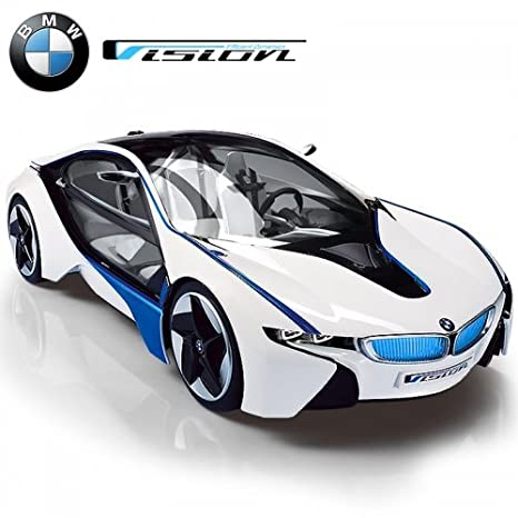 Amazon Com Mjx Kids 1 14 Scale Licensed Bmw I8 Vision With Lights