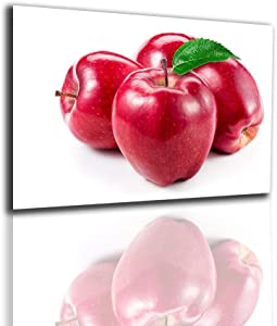 Modern Decoration Home Red Apple Painting Wall Pictures For Living Room Kitchen Decor Food Poster Nordic Prints Diningroom Art-60X80Cm No Frame