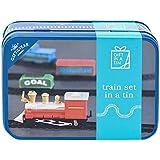 Train Set In A Tin With Mini Trains & Track