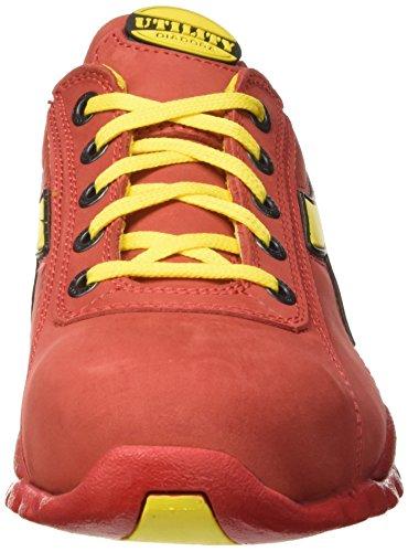 Diadora Glove Ii Low  S3 Hro Sra - Calzado de protección Unisex adulto Rojo (Rosso Scuro)