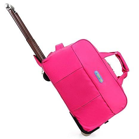 Amazon.com: Maleta de equipaje con dos ruedas, bolsa de ...