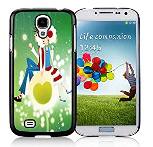Nice Designed Phone Case With Small People Cover Case For Samsung Galaxy S4 I9500 i337 M919 i545 r970 l720 Black Phone Case CR-579