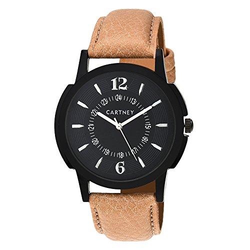 Cartney Analog Black Dial Men's Watch – CT102 …