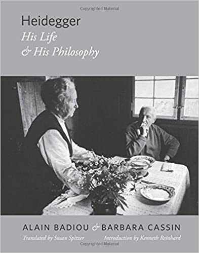 Heidegger: His Life and His Philosophy (Insurrections: Critical Studies in Religion, Politics, and Culture) by Alain Badiou (2016-09-06)