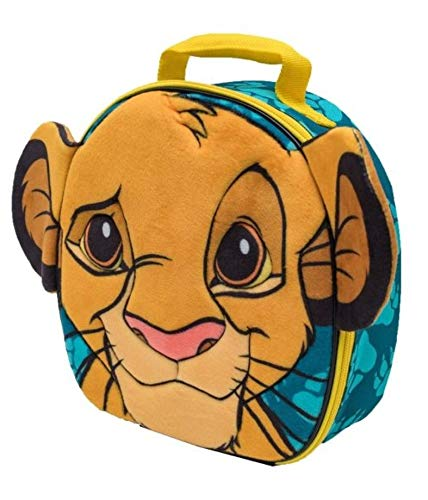 Lions Box Lunch (Lion King 3-D Shaped Lunch Box Bag)