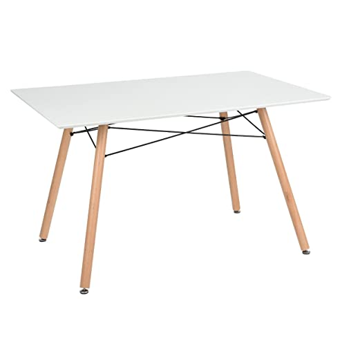 Skandinavischen Platz Esstisch Tisch Retro Küche Matte 120 cm Holz ...