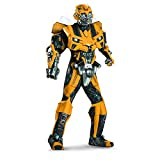 Disguise Mens Hasbro Age Of Extinction Bumblebee Theatrical with Plus 3D Costume
