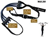 Pull Up Assist Band MAX 200 - UP TO 200 LB of Assistance! - Chin Up + FREE Workout eBook! - High-Performance Assist Bands - Resistance Bands - Get Stronger - For Crossfit or any Workout Program.