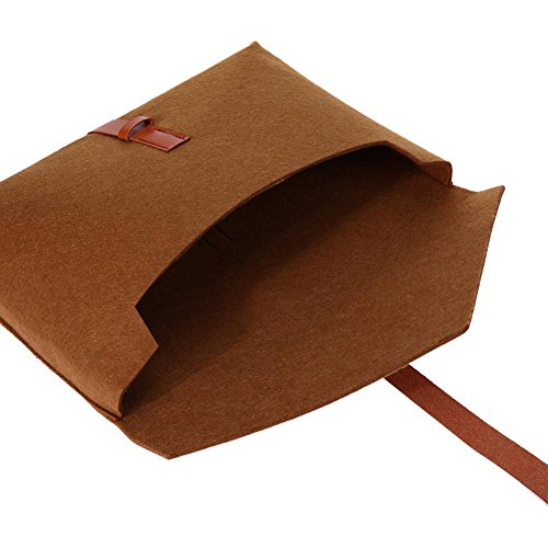 c Laptop For 11inch Felt Bag brown Protective Sleeve Widewing Case Notebook Tablet BCFWqwvxxp