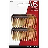 Vidal Sassoon Small Tuck Combs, Tortoise, 4 Count