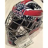Henrik Lundqvist autographed NY Helmet Frozen Pond Authentication