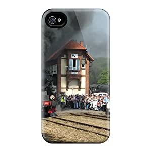 Hot Train First Grade Tpu Phone Case For Iphone 4/4s Case Cover