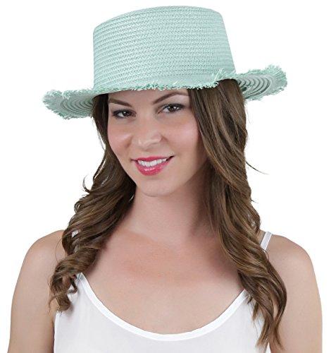 maxi dress and fedora hat - 7