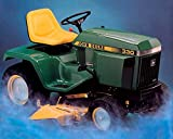 1985 John Deere 330 Diesel Garden Tractor Photo Poster