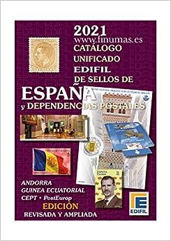 Catalogo EDIFIL Sellos de España y Colonias