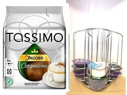 James Premium Tassimo Cappuccino, 1 Pack + regalos Set en polvo en los nuevos Tassimo