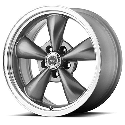 American Racing Custom Wheels AR105 Torq Thrust M Anthracite Wheel With Machined Lip (17x8
