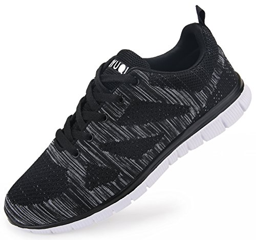 Vibdiv Men S Lightweight Lace Up Mesh Distance Running Shoes Review
