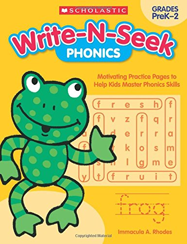 Phonics: Motivating Practice Pages to Help Kids Master Phonics Skills (Write-N-Seek:)