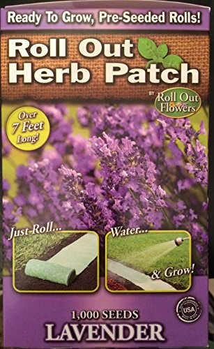 Roll Out Garden Bed of English Lavender Seeds