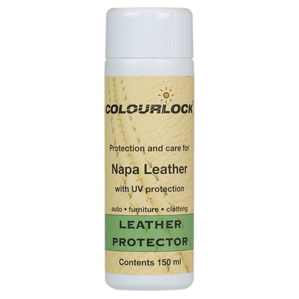 Kit - COLOURLOCK Leather Fresh Dye Kit with Strong Cleaner – RangeRoverLandRover Parchment by Colourlock (Image #1)