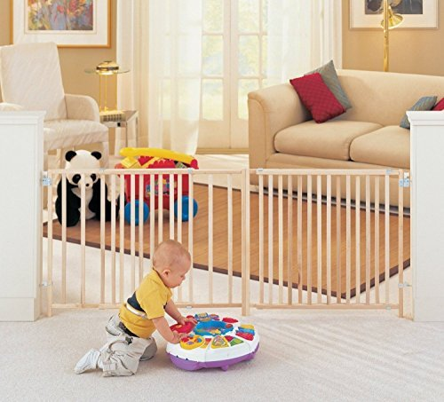 Extra Large Foot 5 6 7 8 Feet ft Long Dog Pet Child Baby Wide Safety Gate Swing by Gracelove